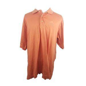 Delta Downs Mens Polo Golf Shirt XXL Orange